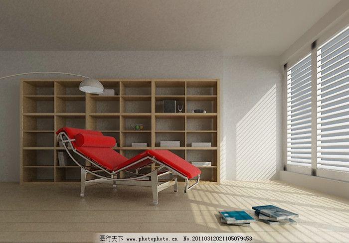 书房 室内效果图 室内        室内设计 环境设计 设计 渲染 3dmax源