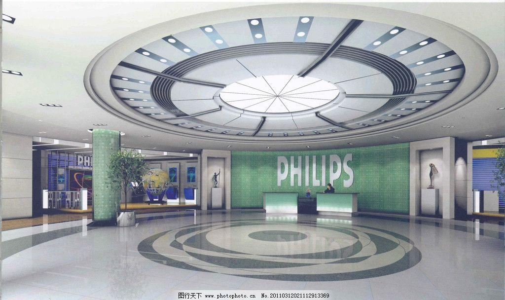装饰 室内装修效果 3d设计效果 3d效果 商业空间 大厅 地板 天花板 灯
