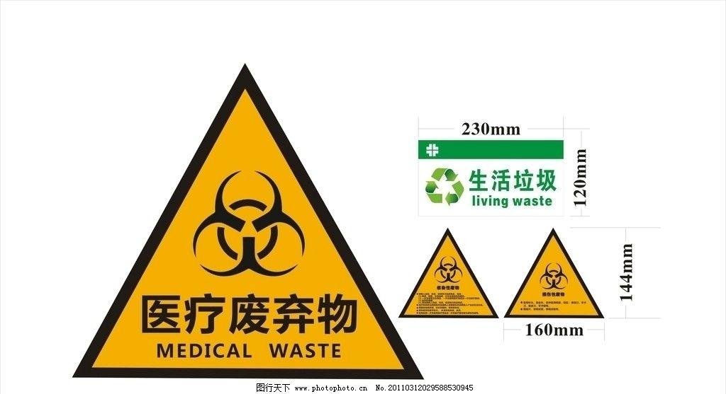 医疗废物标示图(部分位图组成)(非高清)图片图片