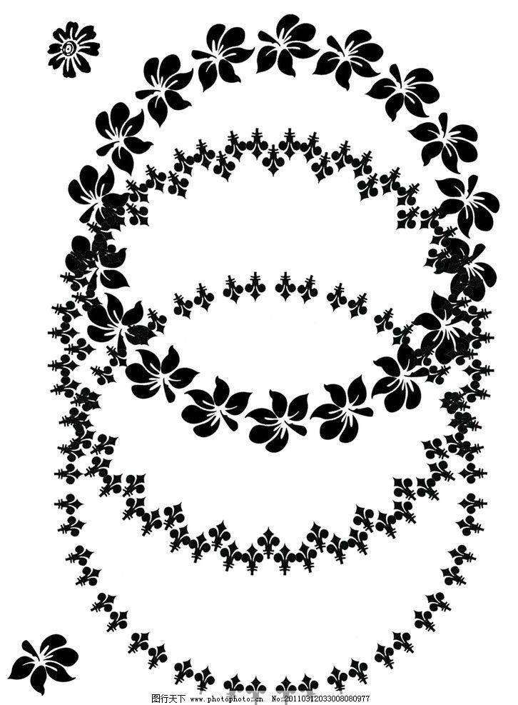 欧美 复古花边 复古 圆形 原创 碟子 花边 花纹 高质量 源文件 背景