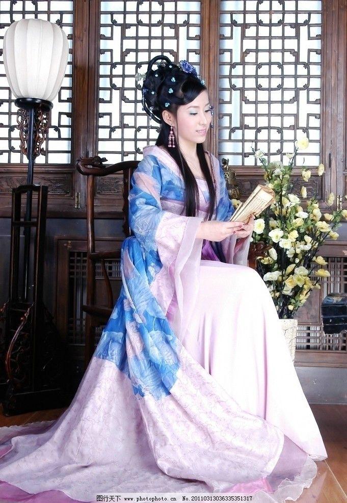 人物 古装 古朴 古典美女 古典美人 美人 美女 古装美人 古装女子