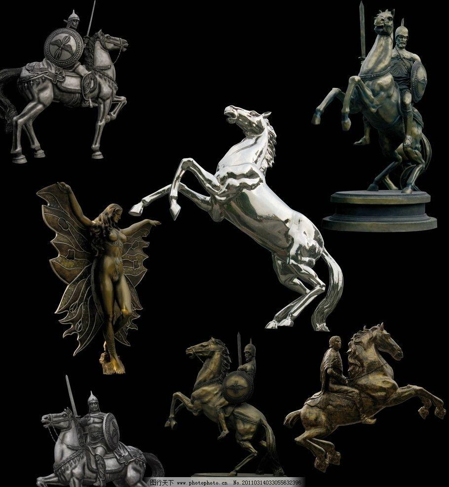 欧式经典雕塑图片