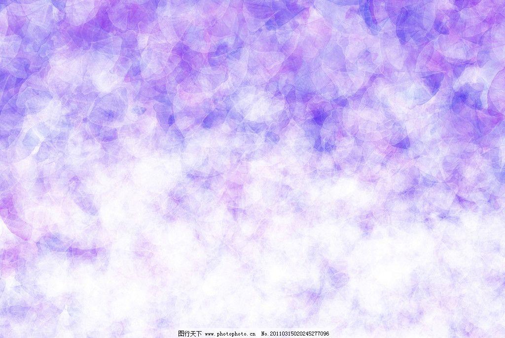 紫色花纹底图图片
