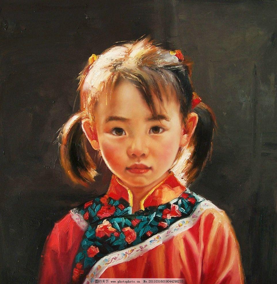 可爱小女孩图片