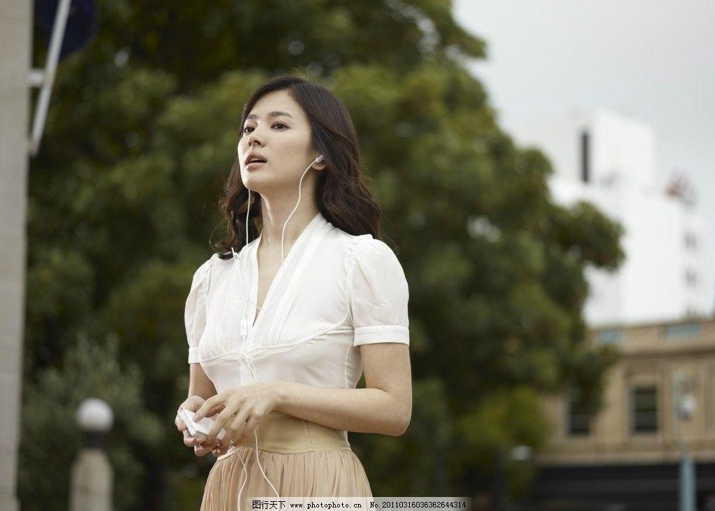 美女 韩国 步步高手机 代表 裙子 漂亮 广告美女 明星偶像 人物图库
