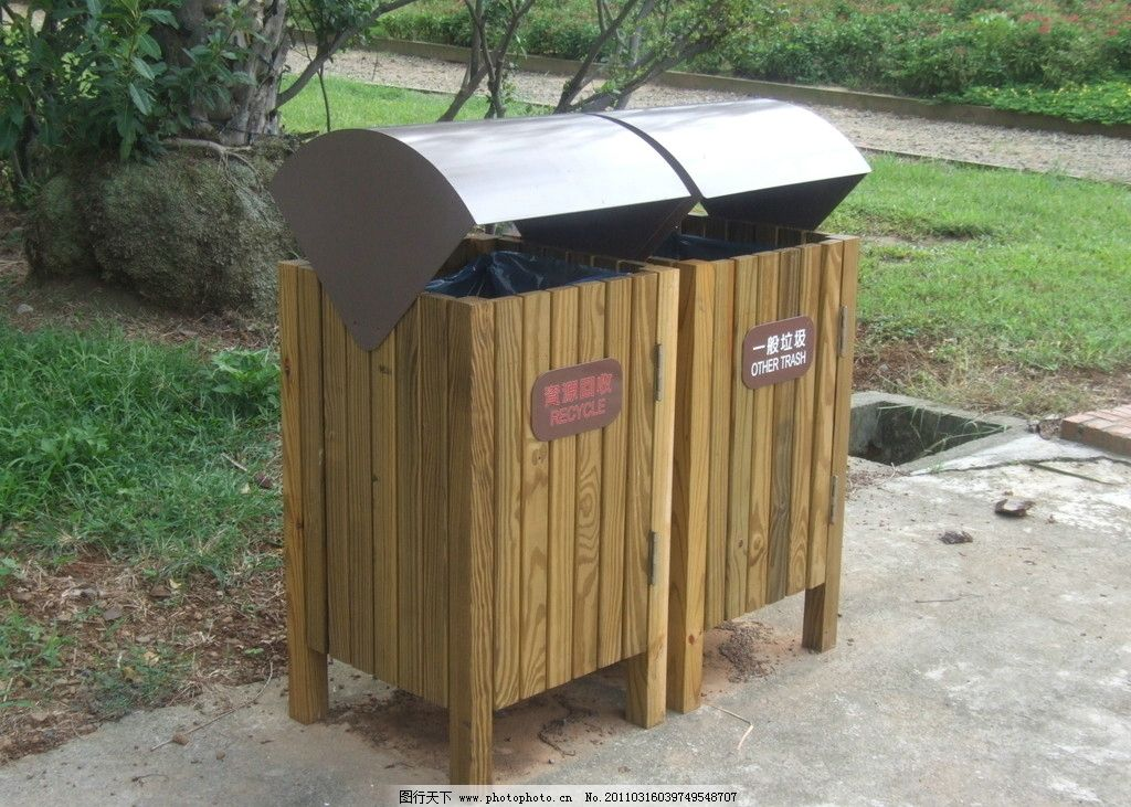 造型垃圾桶图片