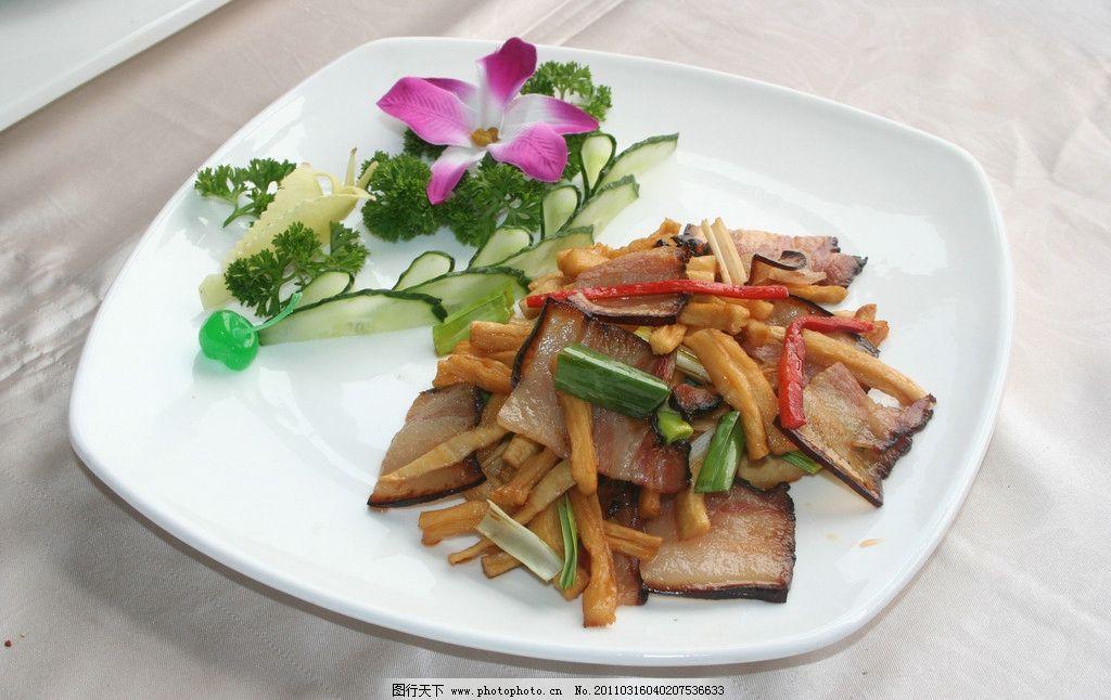 萝卜皮炒腊肉 炒菜 美味 菜谱美食 传统美食 餐饮美食 摄影