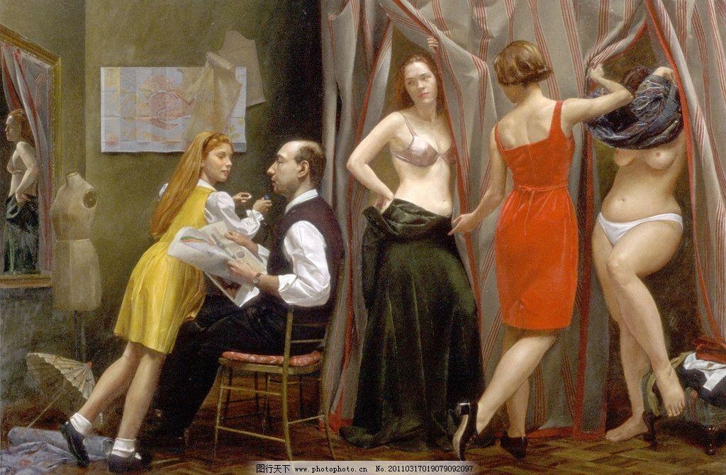 世界著名女体油画欣赏