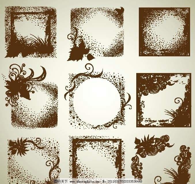 古典花纹 欧式传统花纹 线条 欧式花纹 欧洲花纹 手绘花纹 花朵图片