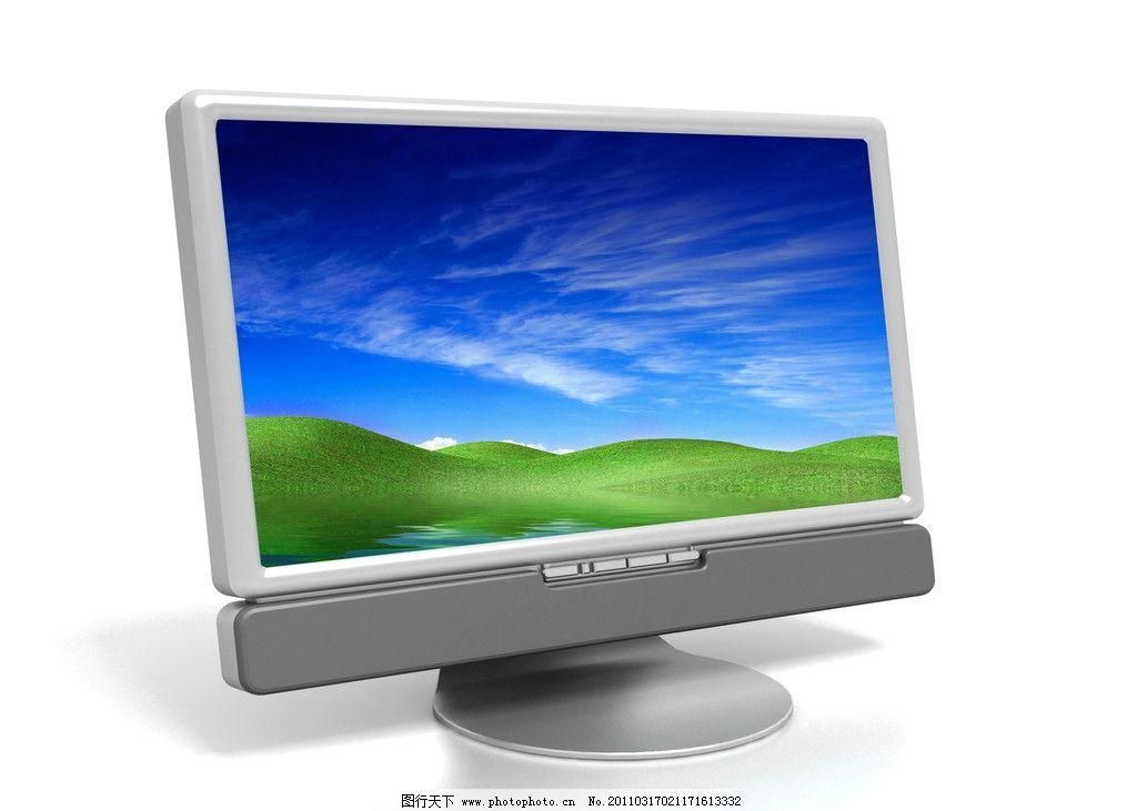 超薄显示器 led lcd 电脑显示器 现代科技 生活百科 电脑网络 3d设计