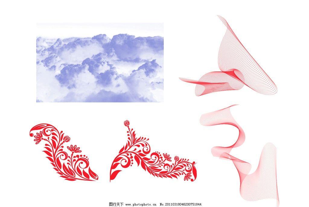 特效笔刷 笔刷 云彩 艺术曲线 曲线 线条 花纹 艺术花纹 ps笔刷 源