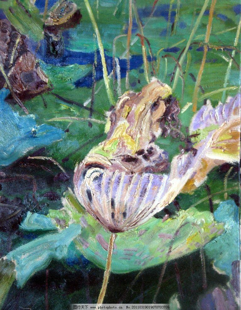 荷花写意油画 抽象 写意 水墨 肌理 风景油画 荷花 荷叶 精美绘画 精品油画 手绘 写意油画 写生 绘画书法 风景 花卉 风光 欧式 欧风 大师 文化艺术 设计 180DPI JPG