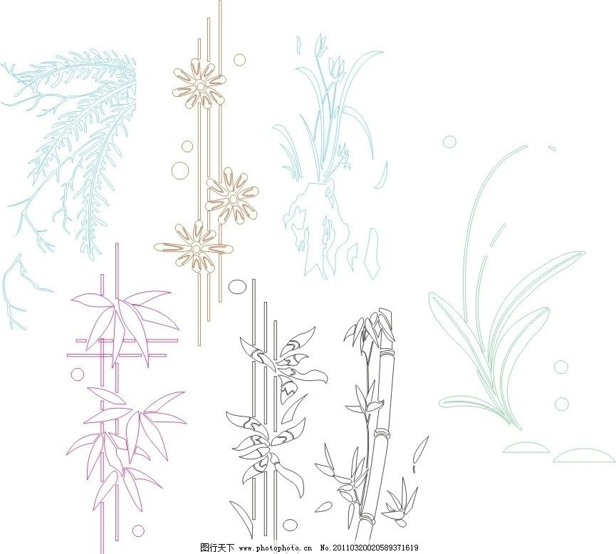 花边底纹 门图案 线条 雕刻 雕花 条纹 矢量 花纹花边 底纹边框 条纹