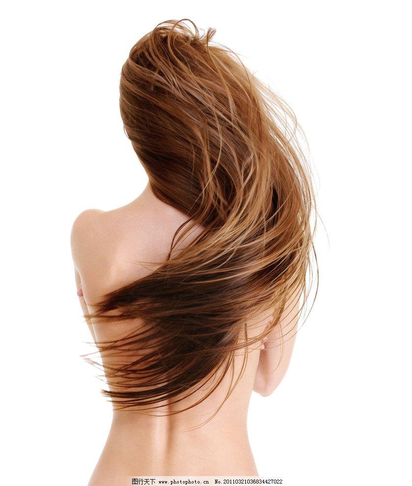 长发时尚美女发型秀发图片