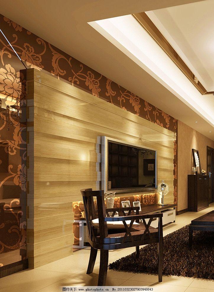 电视墙 欧式风格 室内设计 环境设计 设计 300dpi jpg