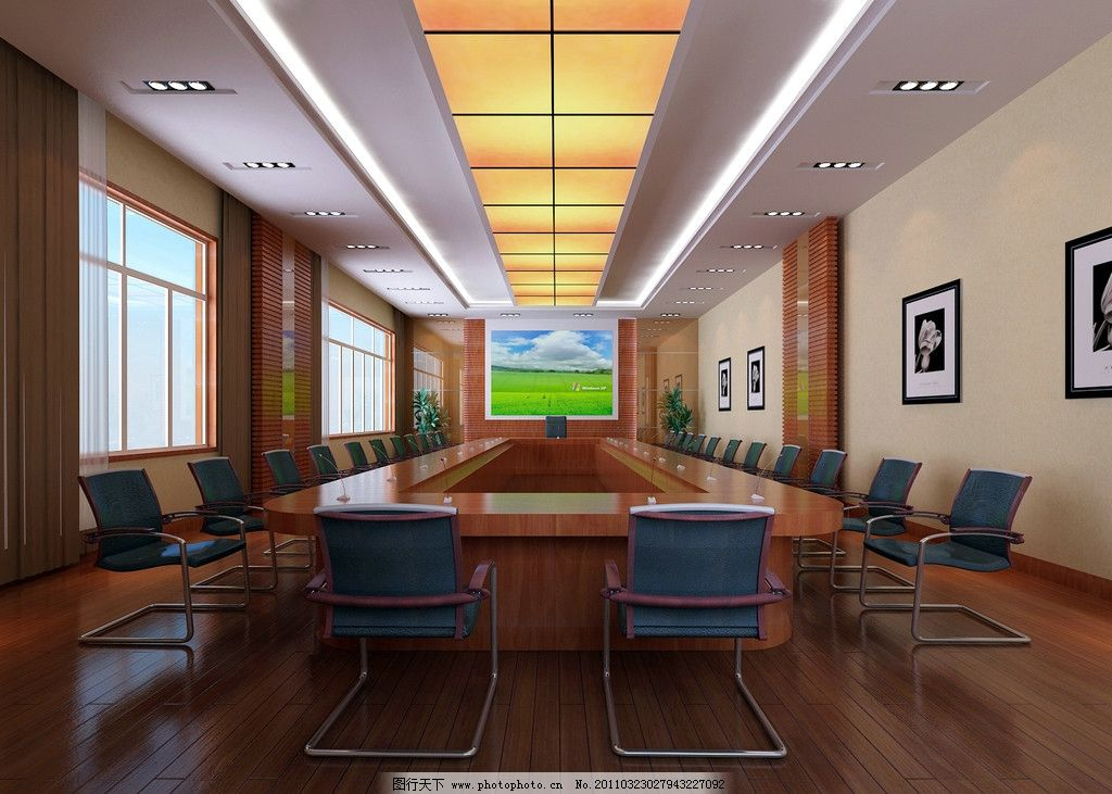会议室 现代中式 室内设计 环境设计 设计 72dpi jpg