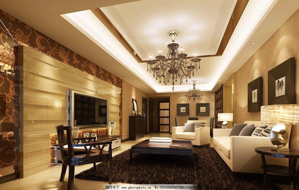 轻欧风格的客厅图片