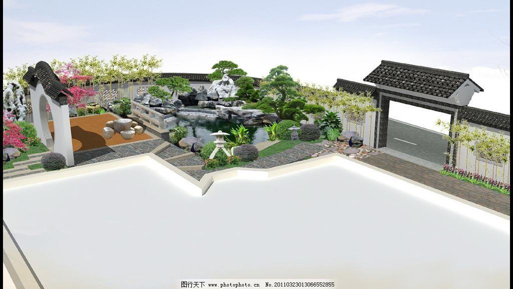 中式园林图片