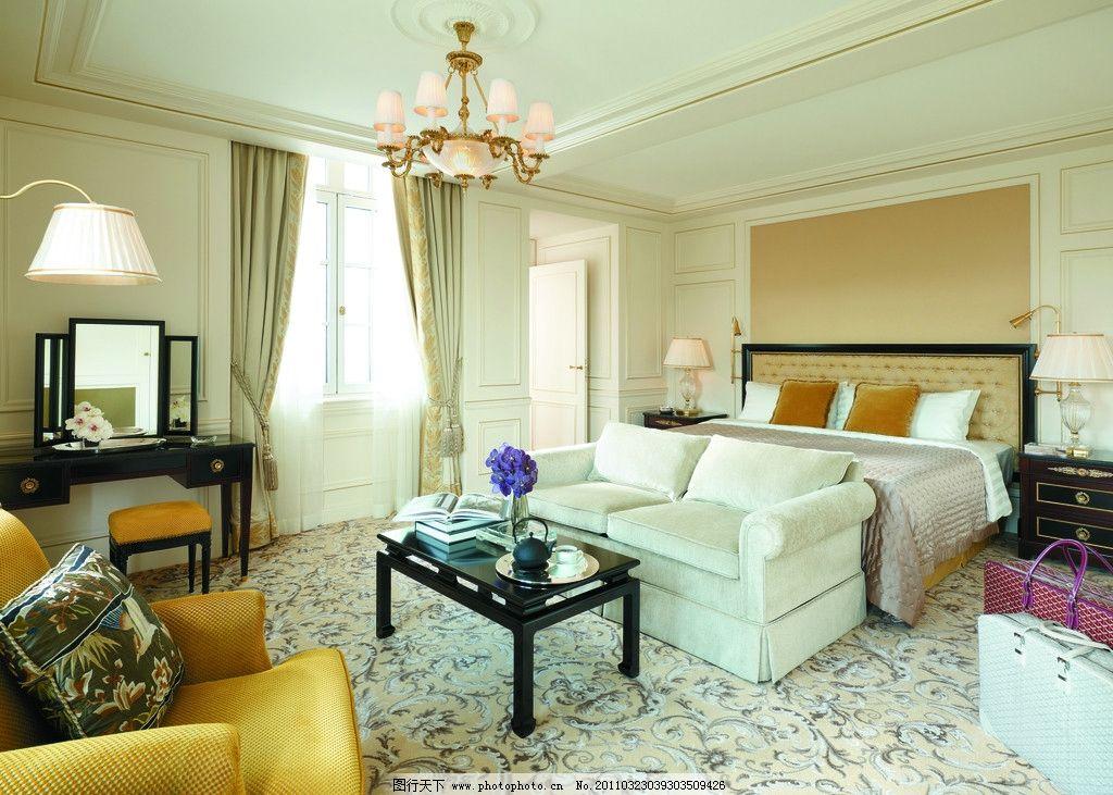 巴黎香格里拉客房 酒店设计 五星级酒店 香格里拉酒店 欧式酒店 会所