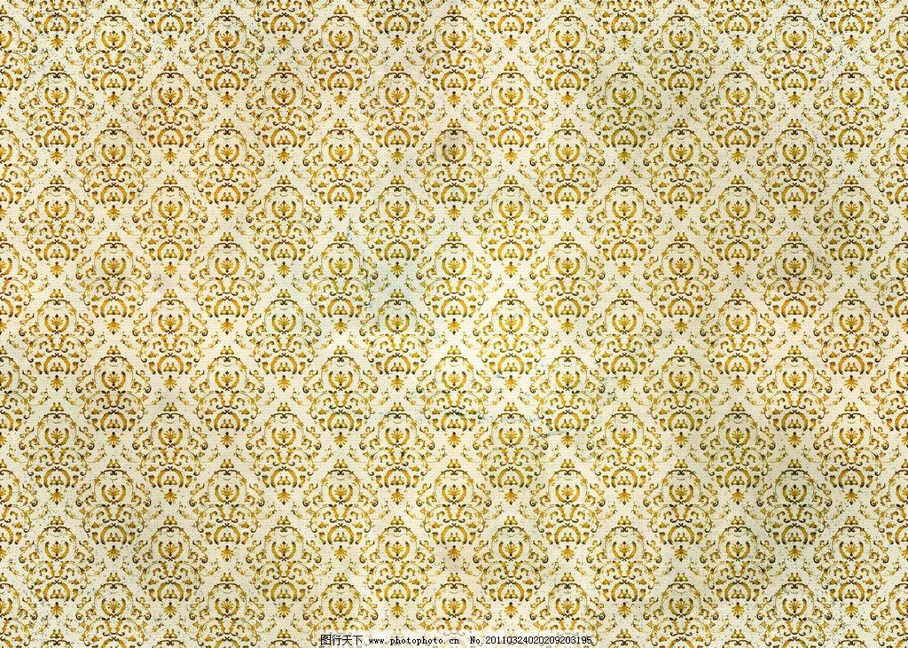 欧式花纹背景 花纹 花边 布纹 二方连续 欧式 底纹 边框 时尚 传统 古