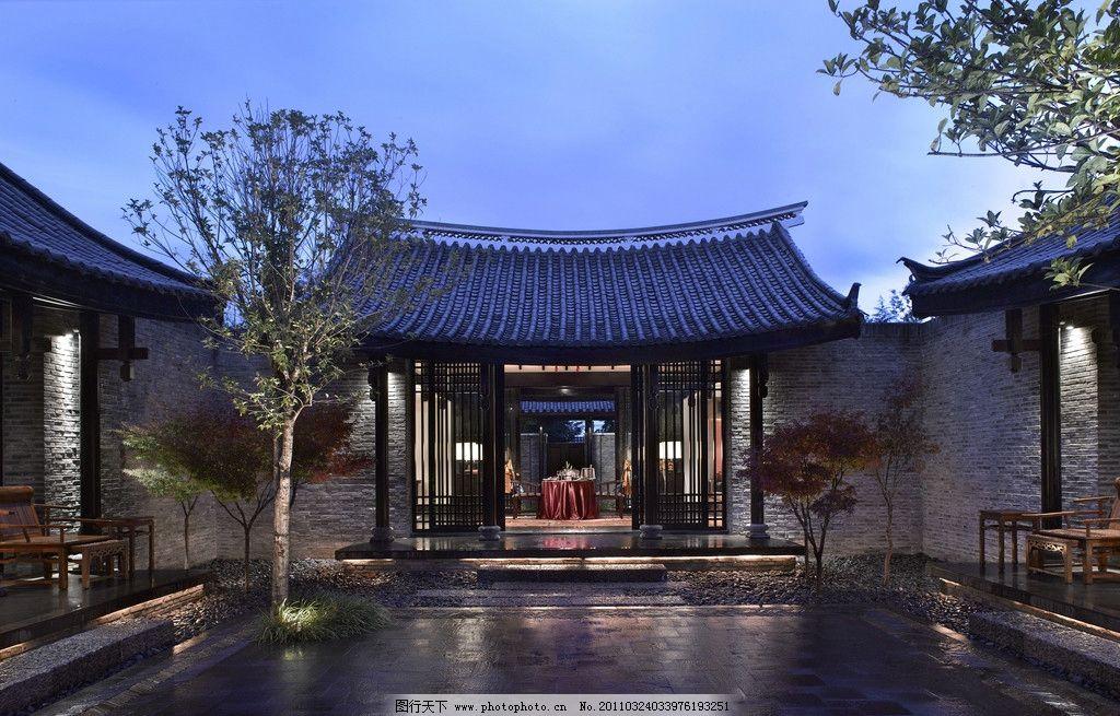 丽江悦榕庄 丽江悦榕庄酒店 水池 中式风格 国内旅游 旅游摄影