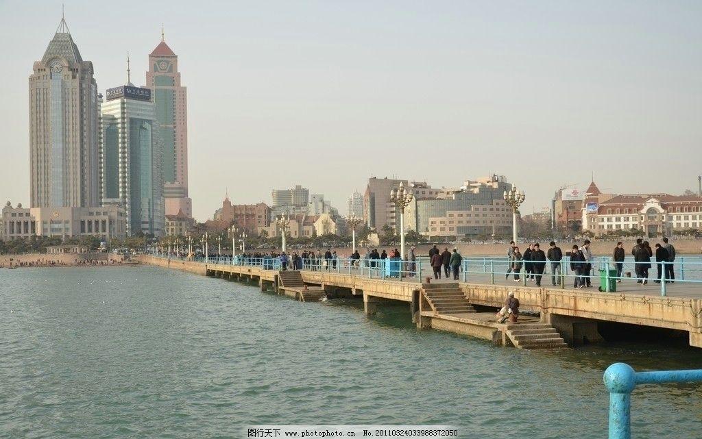 青岛栈桥图片