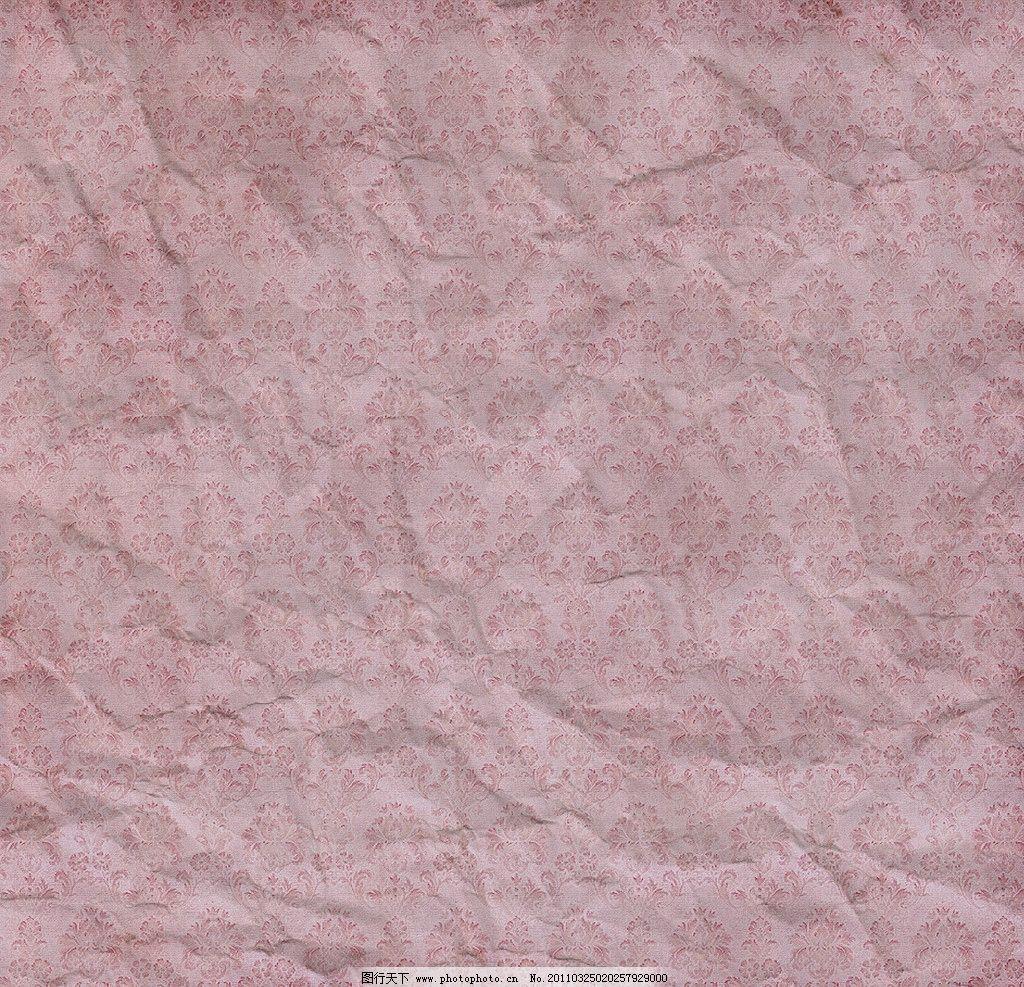 复古花纹纸张背景图片