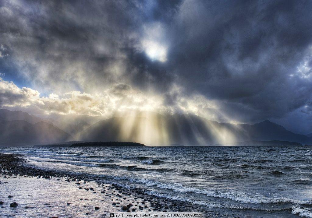 新西兰风光 风景 高清 旅游摄影 国外旅游 摄影 hdr 新西兰 阳光 海浪