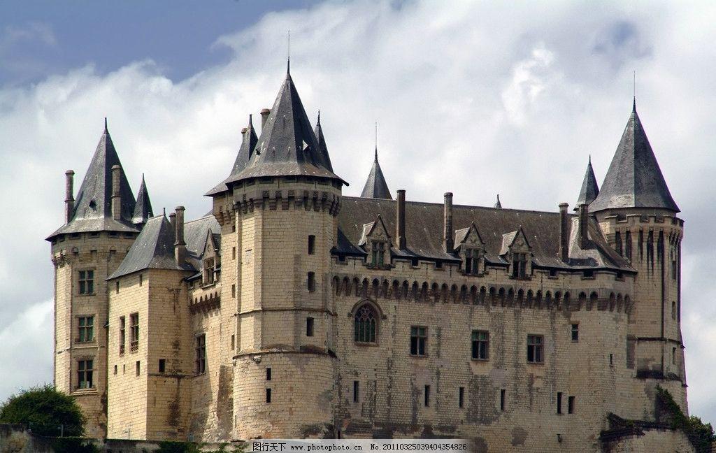 古堡 建筑 古代 城堡 欧式 气派 建筑摄影 建筑园林 摄影 300dpi jpg
