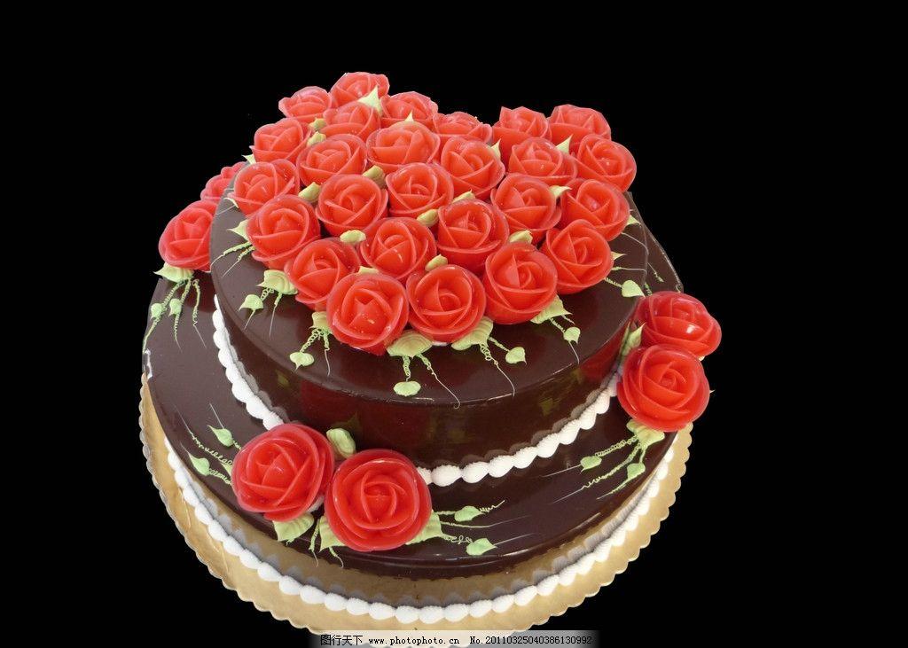玫瑰之火蛋糕 蛋糕 奶油 巧克力 玫瑰花 西餐美食 餐饮美食 摄影 180图片