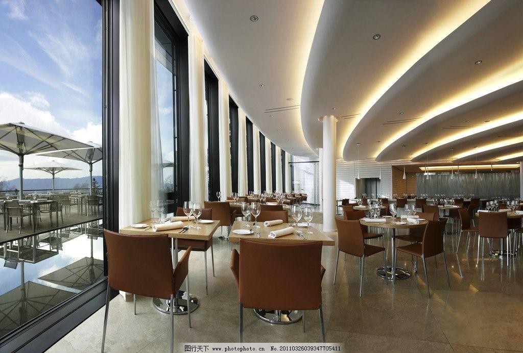 餐厅大厅设计 餐桌 餐椅 情调 西餐厅 欧式餐厅 餐厅设计 室内设计