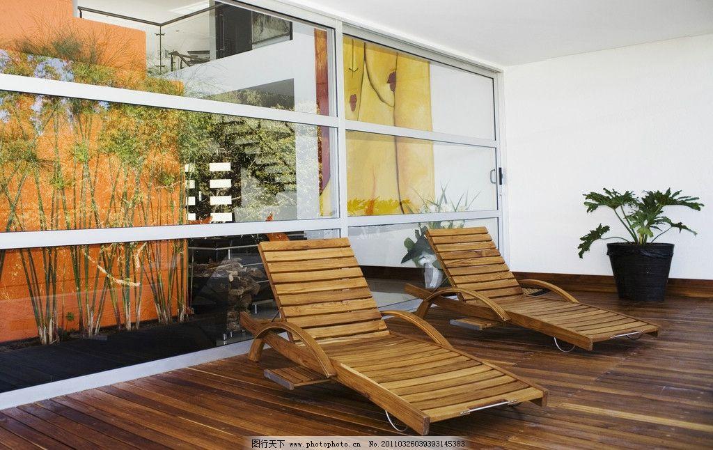 休闲阳台 室内装饰 窗户 休闲椅 室内摄影 建筑园林