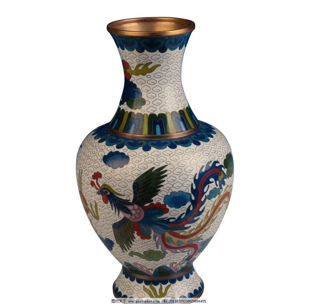 花瓶 瓶 家居 传统 凤凰 花纹 传统文化 文化艺术 摄影 300dpi jpg
