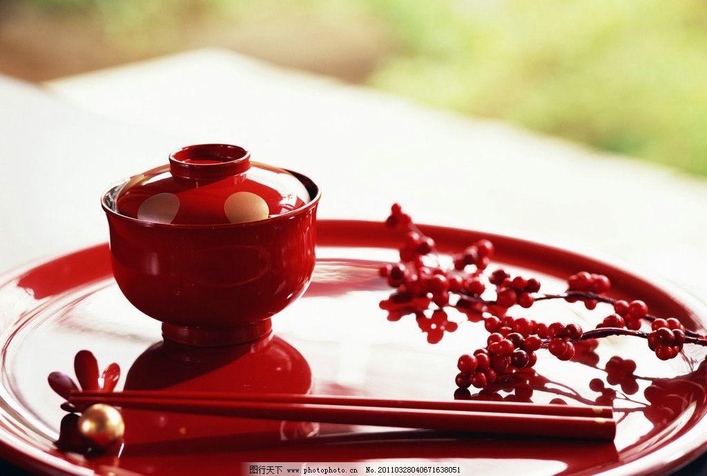 摄影 餐具摄影 盘子 碗 筷子 日式餐具 红色餐具 餐具厨具 餐饮美食