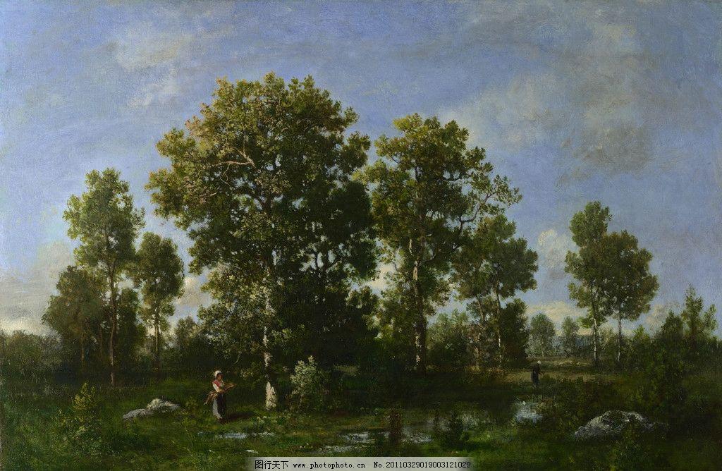 珍藏 壁画 精品 装饰画 美术 精美油画 名画 名作 艺术品 欧式绘画