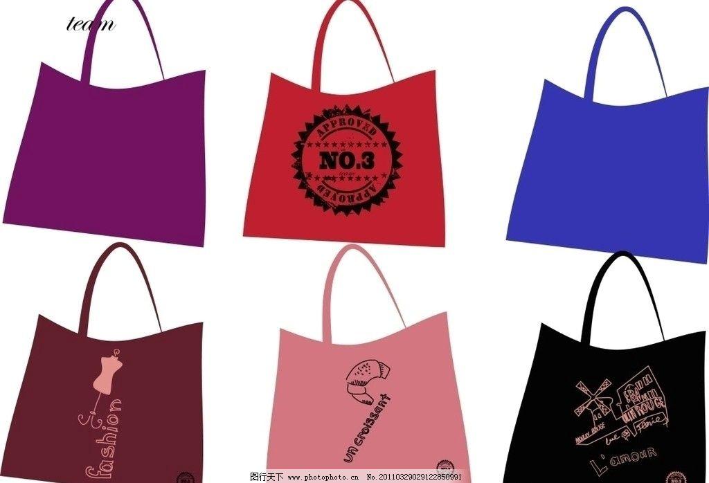 布袋 包装设计 广告设计 矢量