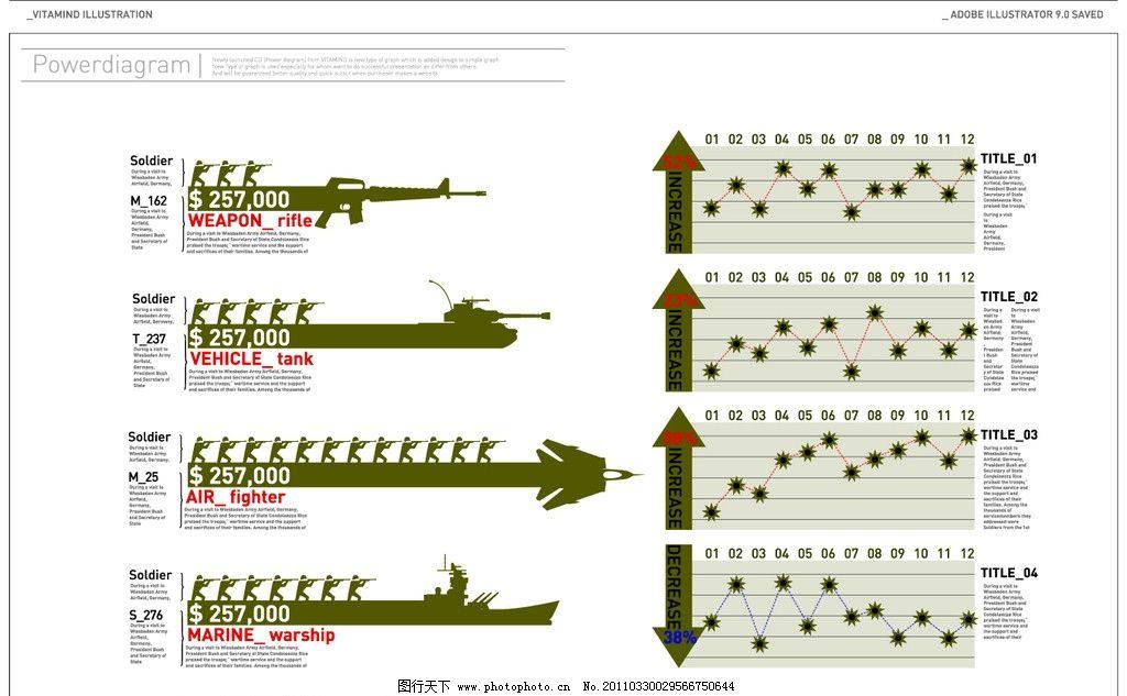 军事素材广告排版图片