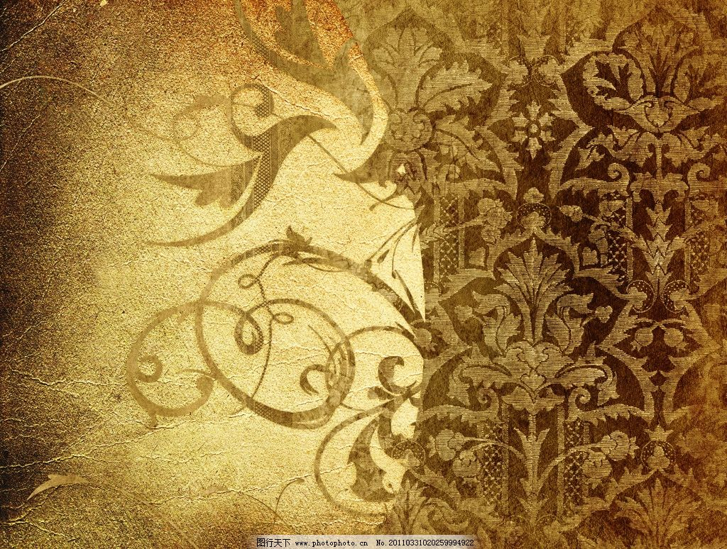 复古怀旧花纹背景 复古怀旧背景 花纹 欧式古典花纹 羊皮纸 牛皮纸 旧