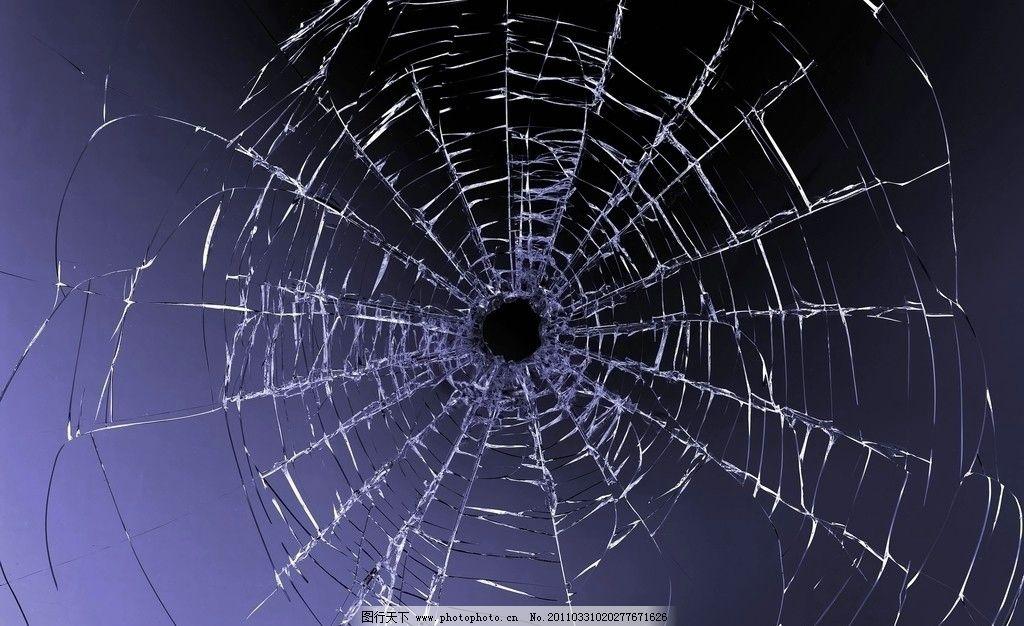 玻璃弹孔 碎玻璃 玻璃 弹孔 纹理 玻璃裂纹 裂纹 玻璃裂痕 碎玻璃材质