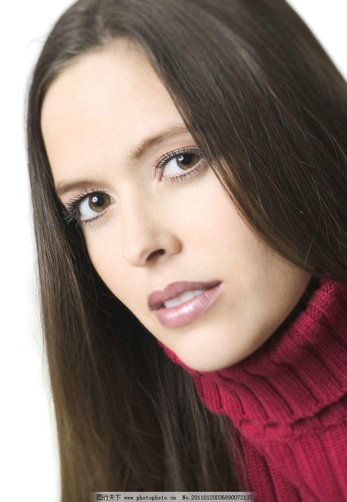 时尚美女发型图片_女性妇女_人物图库-图行天下素材网